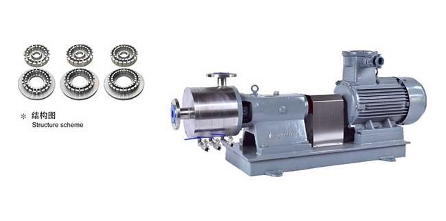 HEX3均质乳化泵